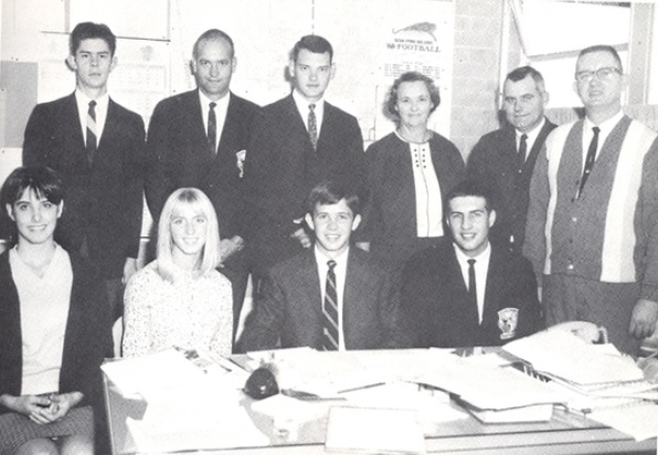 Junior Year Class Officers (1967)